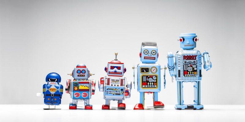 Soorten RPA robots